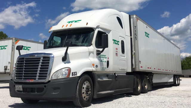 TDC Freightliner Cascadia Truck and Trailer